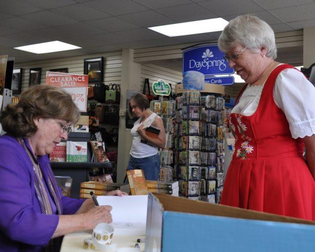 Serena at Gospel Bookstore in Sugarcreek 2