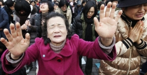 Believers in South Korea pray and weep for those who were due to be executed for planting churches in the North.